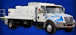 Leaders in the industry  have state of the art equipment. Pebble Concepts brings that to your job with help from Spray Force Mfg. Trucks that are 100% OSHA compliant with equipment that is maintenance free. The truck motor runs the pressure cleaner, generator, mixer, and the plaster pump. Having this equipment on your job only makes you look better.